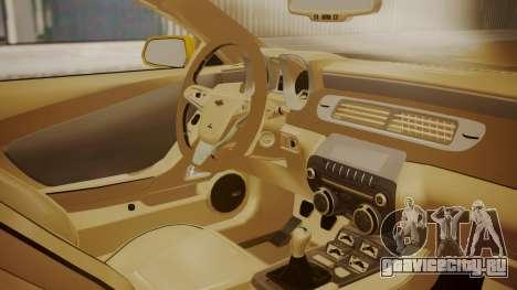Chevrolet Camaro SS 2015 для GTA San Andreas вид справа