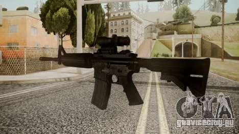 M4 by catfromnesbox для GTA San Andreas второй скриншот