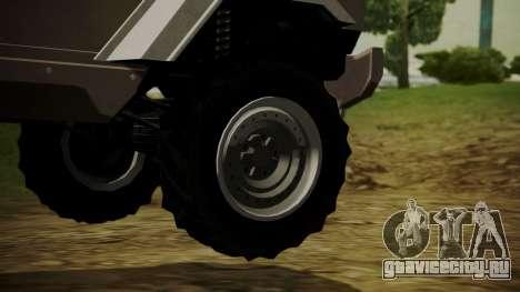 GTA 5 HVY Insurgent для GTA San Andreas вид сзади слева