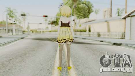 Project Diva F 2nd - Kagamine Rin Cheerful Candy для GTA San Andreas третий скриншот
