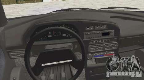 ВАЗ 2115 Сток для GTA San Andreas вид сзади