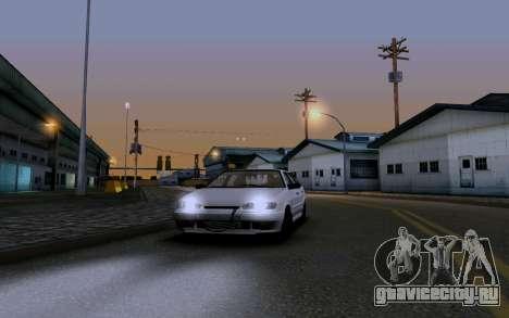 Ваз 2114 Турбо для GTA San Andreas салон