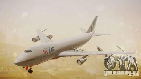 Boeing 747-200 Fly US для GTA San Andreas