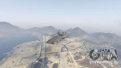 S.H.I.E.L.D. Helicarrier для GTA 5 второй скриншот