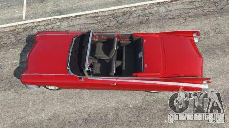 Cadillac Eldorado для GTA 5 вид сзади