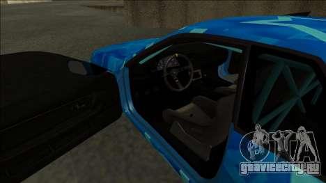 Nissan Skyline R32 Drift Blue Star для GTA San Andreas вид справа
