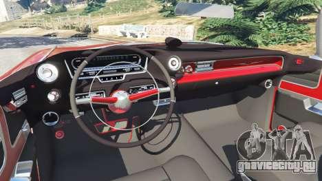 Cadillac Eldorado для GTA 5 вид сзади справа