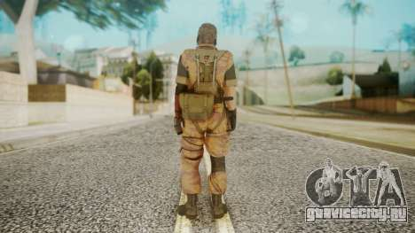 Venom Snake Golden Tiger для GTA San Andreas третий скриншот