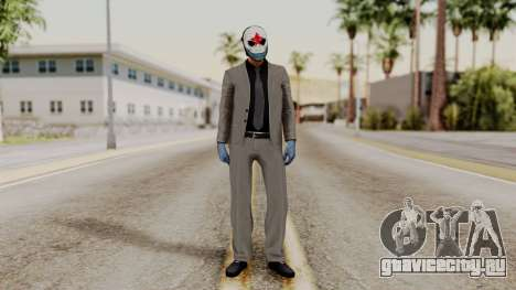 Payday 2 Sokol для GTA San Andreas второй скриншот