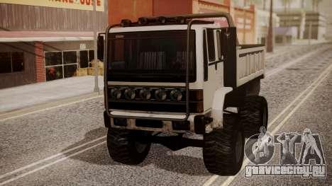 DFT Monster Truck 30 для GTA San Andreas вид сзади слева