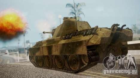 Panzerkampfwagen V Ausf. A Panther для GTA San Andreas вид слева