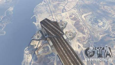 S.H.I.E.L.D. Helicarrier для GTA 5 шестой скриншот