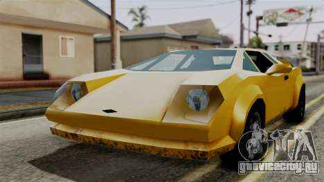 Infernus from Vice City Stories для GTA San Andreas