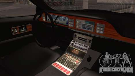 Chevy Caprice Station Wagon 1993-1996 NYPD для GTA San Andreas вид справа