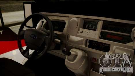 Ford Transit Jumbo Ambulance для GTA San Andreas вид справа