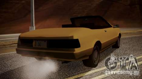 Cadrona Cabrio для GTA San Andreas вид слева