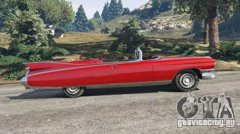 Cadillac Eldorado для GTA 5 вид слева