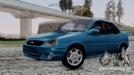 Chevrolet Corsa Classic 2009 v3 для GTA San Andreas
