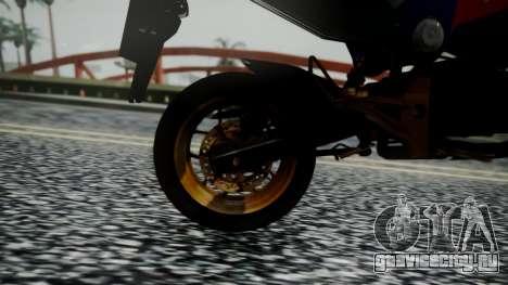 Honda MSX 125C Khmer для GTA San Andreas вид сзади