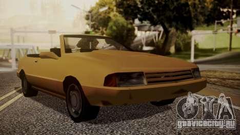 Cadrona Cabrio для GTA San Andreas