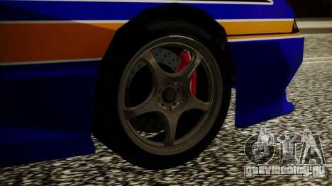 Elegy NR32 with Neon Exclusive PJ для GTA San Andreas вид сзади слева