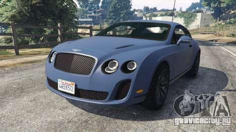 Bentley Continental Supersports [Beta2] для GTA 5