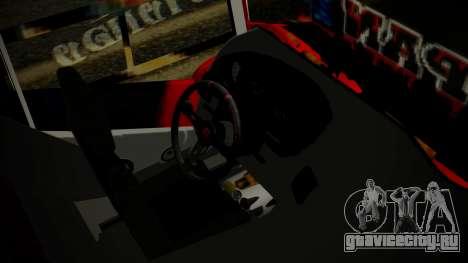 Bus Iron Man для GTA San Andreas вид справа