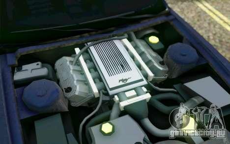 Ford Mustang GT 2005 для GTA San Andreas колёса
