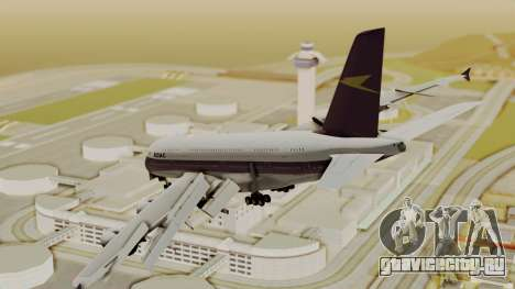 Airbus A380-800 British Overseas Airways Corp. для GTA San Andreas вид слева