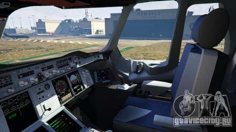 Airbus A380-800 v1.1 для GTA 5 десятый скриншот