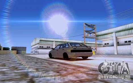 Ваз 2114 Турбо для GTA San Andreas вид слева