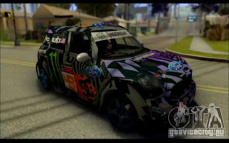 Mini Cooper Gymkhana 6 with Drift Handling для GTA San Andreas