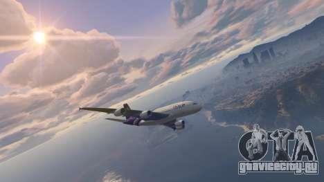 Airbus A380-800 v1.1 для GTA 5 второй скриншот