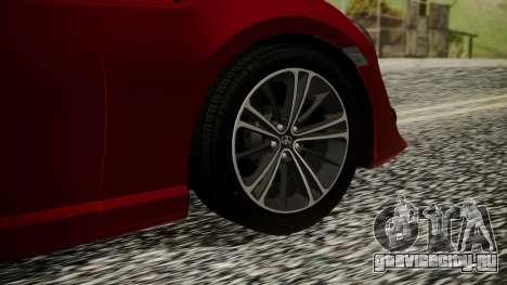 Toyota GT86 2012 LQ для GTA San Andreas вид сзади слева