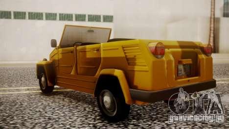 Volkswagen Safari Type 181 для GTA San Andreas вид слева
