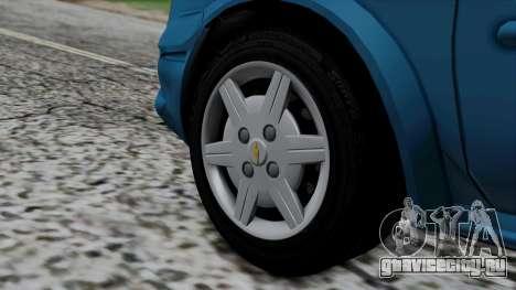 Chevrolet Corsa Classic 2009 v3 для GTA San Andreas вид сзади слева