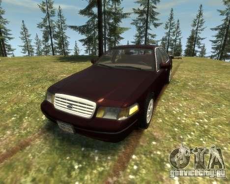 2003 Ford Crown Victoria для GTA 4 вид слева