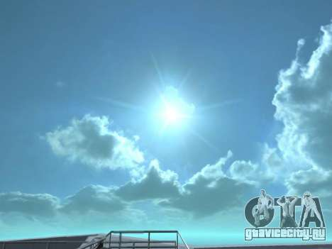 Реалистичный Skybox HD 2015 для GTA San Andreas второй скриншот