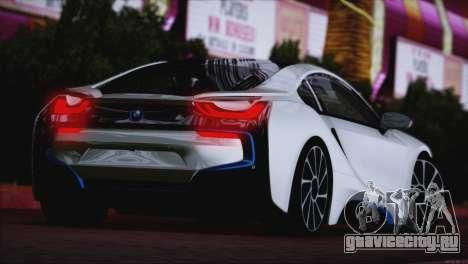BMW i8 Coupe 2015 для GTA San Andreas вид сзади слева