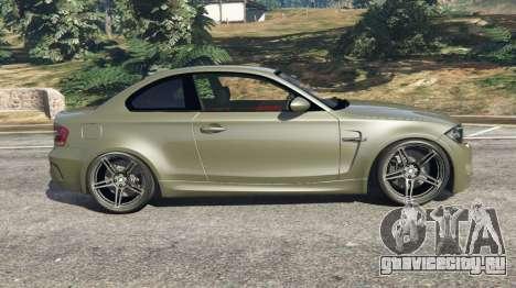 BMW 1M v1.2 для GTA 5 вид слева