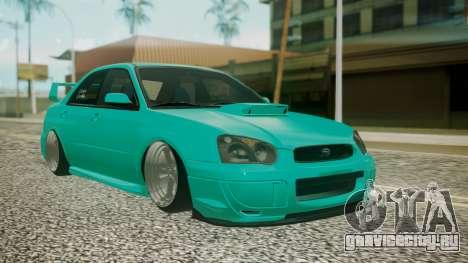 Subaru Impreza 2004 для GTA San Andreas