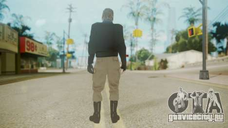 Venom Snake [Jacket] Bast Arm для GTA San Andreas третий скриншот