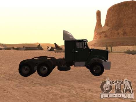 ЗиЛ-133 05А для GTA San Andreas вид слева
