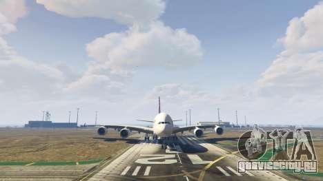 Airbus A380-800 v1.1 для GTA 5 шестой скриншот
