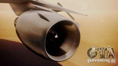 DC-10-10 Western Airlines для GTA San Andreas вид справа
