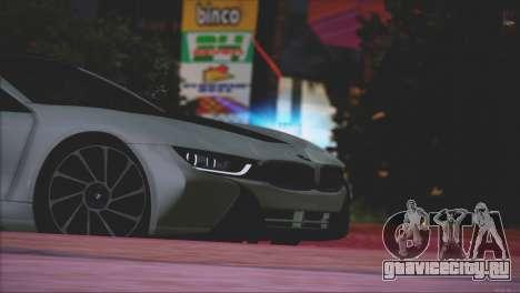 BMW i8 Coupe 2015 для GTA San Andreas вид снизу
