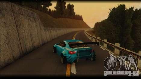 Toyota GT86 Customs Rocket Bunny для GTA San Andreas вид сзади слева