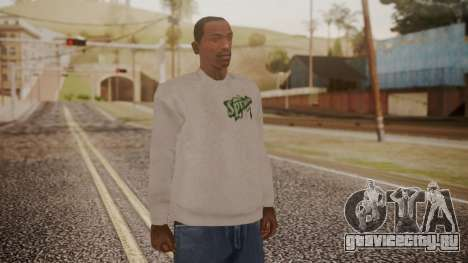 Sprunk Sweater Gray для GTA San Andreas