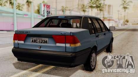 Ford Versailles GL 2.0i 1992-1993 для GTA San Andreas вид слева