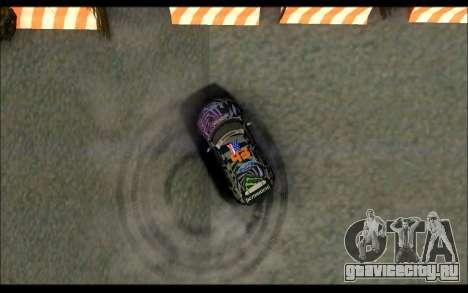 Mini Cooper Gymkhana 6 with Drift Handling для GTA San Andreas вид сбоку